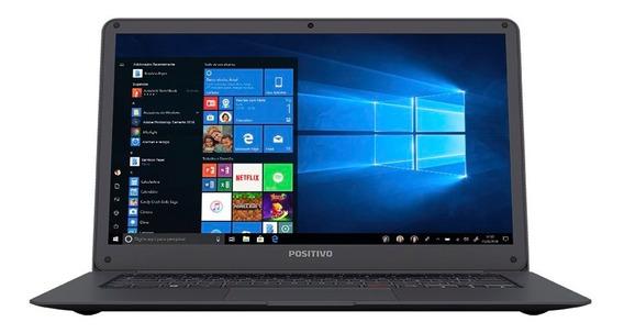 Notebook Positivo Motion Q232a Intel Atom 2gb 32gb W10 Home
