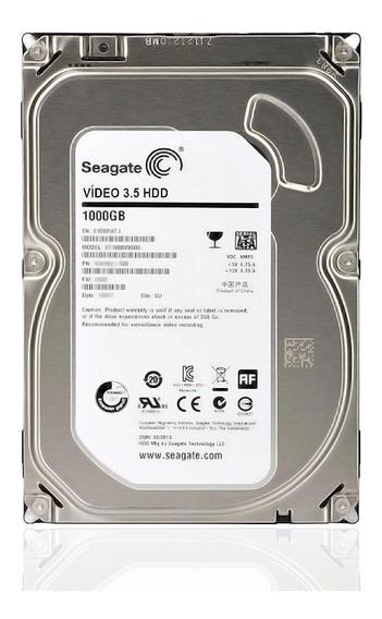 Hd Seagate- 1,000gb (1tb) Sata 3 (lacrado) Novo- Envio Hoje!