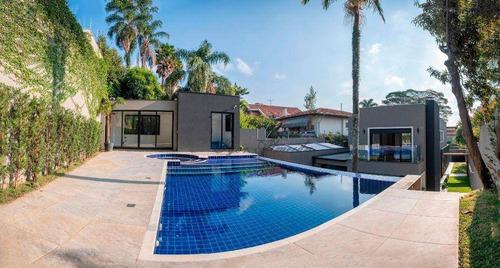 Casa Com 4 Dorms À Venda, 410 M² Por R$ 6.500.000 - Pacaembu - São Paulo/sp - Ca5321