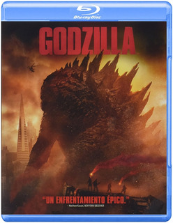 Pelicula Godzilla 2014 Blu-ray