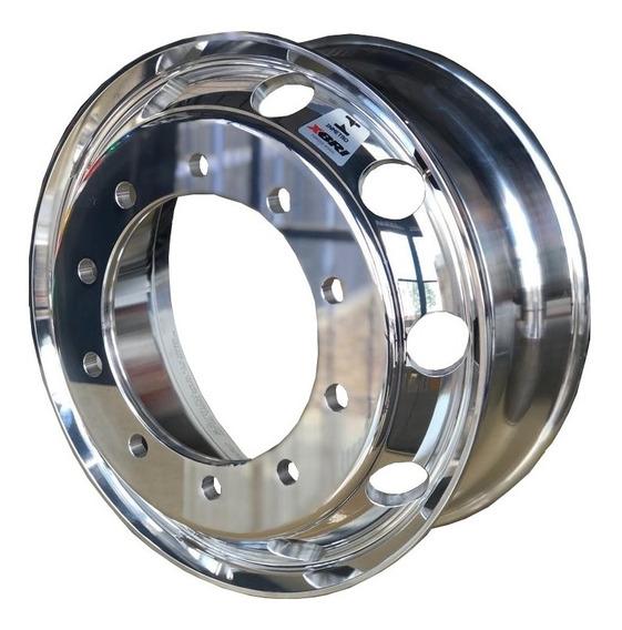 Roda De Alumínio Caminhão Aro 22,5 X 8,25