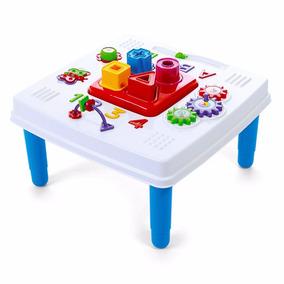 Mini Mesinha Educativa Didática Infantil Bebe Brincar
