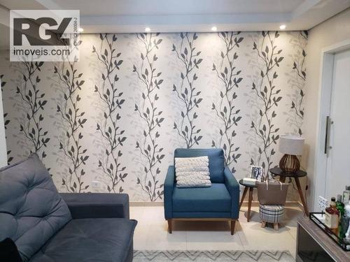Apartamento À Venda, 128 M² Por R$ 480.000,00 - Ponta Da Praia - Santos/sp - Ap6560