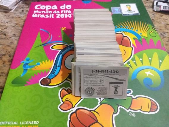 Lote 648 Figurinhas Copa Mundo 2014 Diferentes