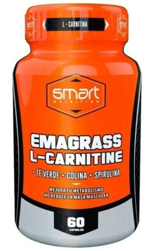 L Carnitine Emagrass Smart Nutrition Te Verde + Obs