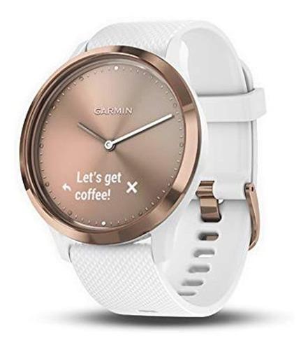 Imagen 1 de 5 de Garmin Vivomove Hr, Reloj Inteligente Hibrido Para Hombres