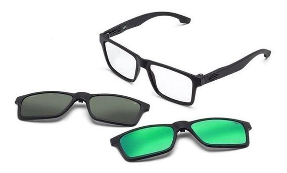 Oculos Sol Mormaii Swap M6057ace56 Com 2 Clip On Polarizado