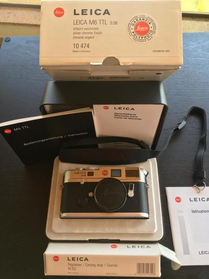 Camera Fotografica Leica M6 Corpo