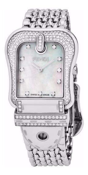 Reloj Fendi B Womens Acero Inoxidable Plata Mujer F386140pc1