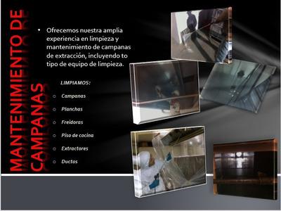 Limpieza De Campanas Y Extractores Industriales De Cocina