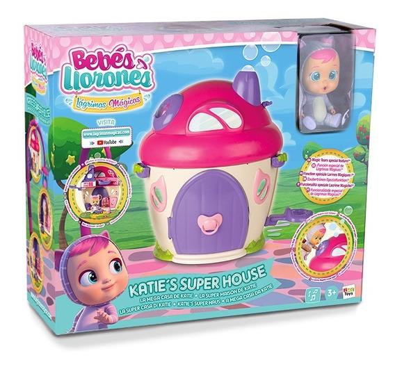 Cry Babies Magic Tears Katie Super House Con Accesorios