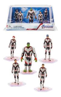 Disney Store - Marvel Vengadores Endgame Playset Figuras