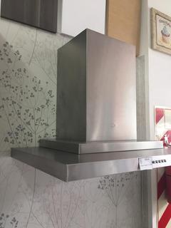 Campana Scala 75cm Tst C/s Filtros Carbono Amoblamientos Fl