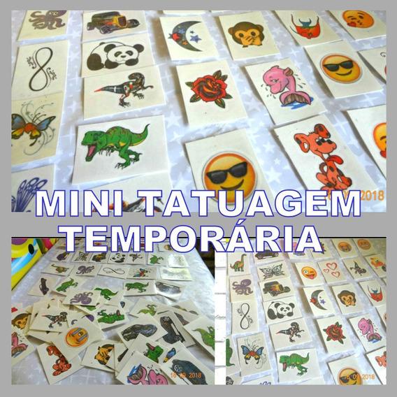 3000 Tatuagens Infantis Temporárias 3 X 4 Cm- Imbatível!!