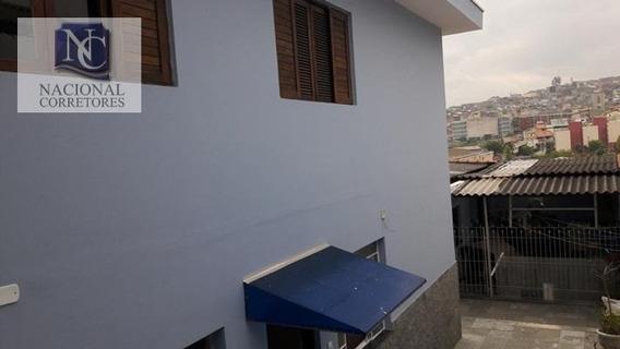 Casa Residencial À Venda, Parque Novo Oratório, Santo André. - Ca1563