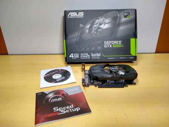 Placa De Vídeo Asus Geforce Gtx 1050ti 4gb Gddr5 L1229