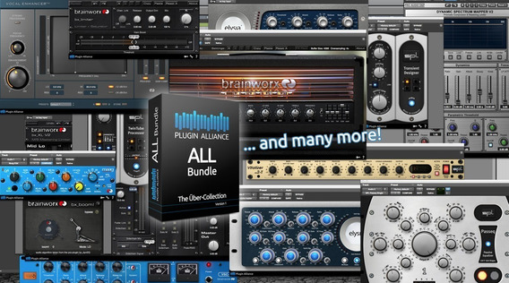 Plugin Alliance + Soundtoys (inc. Asistencia De Instalacion)