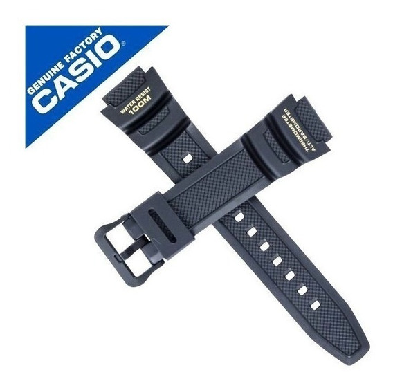 Pulseira Casio Sgw-400h 1b2v Resina Preta Sgw-400 Original