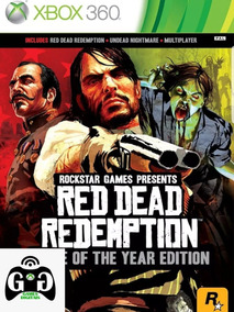 Red Dead Redemption+undead Nightmare-xbox 360-midia Digital