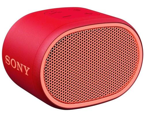 Mini Som Bluetooth Wireless Extra Bass Srs-xb01 Red Sony