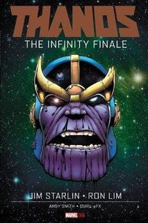 Libro Thanos The Infinity Finale - Marvel Comics