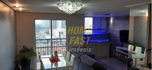Apartamento Com 3 Dormitórios À Venda, 64 M² Por R$ 360.000 - Gopoúva - Guarulhos/sp - Ap2406