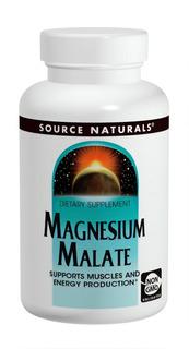 Magnésio Dimalato Source Naturals 1250mg 180 Tabs Importado