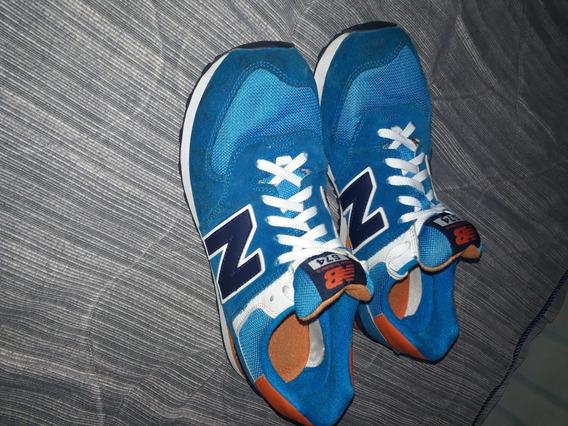 Zapatillas New Balance 574 Color Celeste
