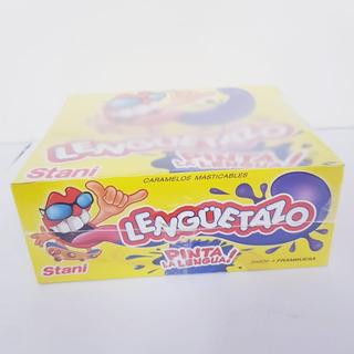 Lenguetazo Pinta Lengua Sabor Frambuesa. Pack X50 Unidades.
