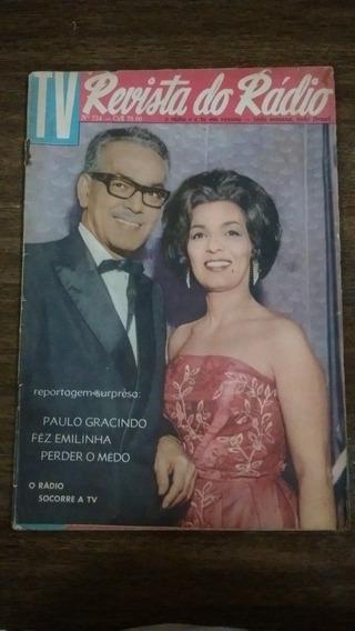 Revista Do Rádio - Paulo Gracindo E Emilinha Borba 1961