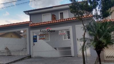 Sobrado A Venda No Bairro Parque Monte Alegre Em Taboão Da - 2134-1