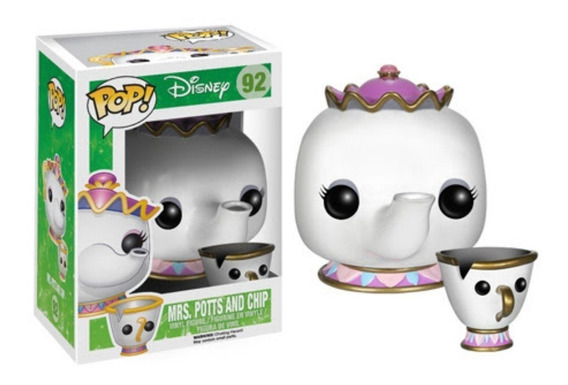 Funko Pop Disney Beauty And The Beast Mrs. Potts And Chip