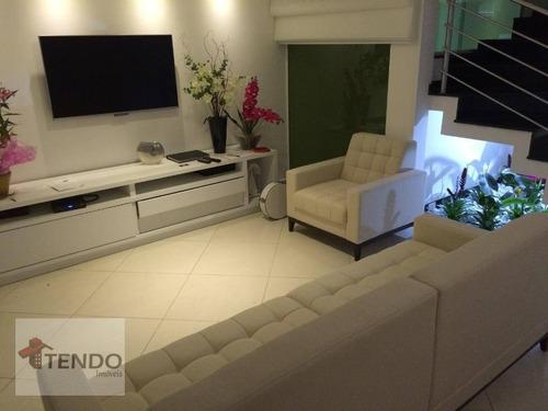 Imagem 1 de 15 de Imob01 - Casa Sobrado 175 M2 - 3 Suítes - Jordanópolis - São Bernardo Do Campo. - So0067