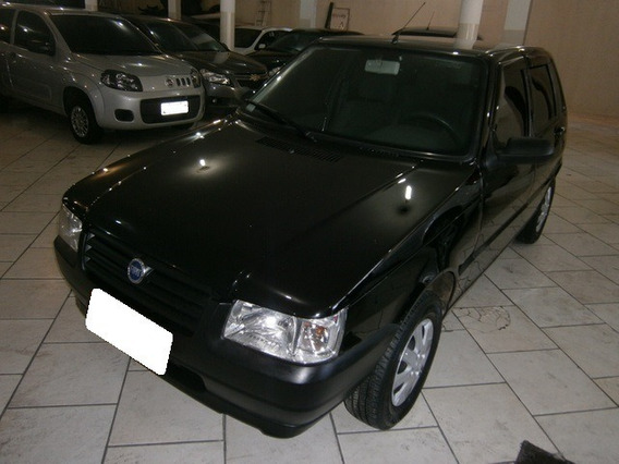 Fiat Uno Mille Fire 1.0 8v Flex 4p Manual 2008 Preto