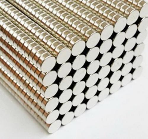 Imanes Neodimio Paquete De 200 Unidades De 5x2 Mm Cilindro
