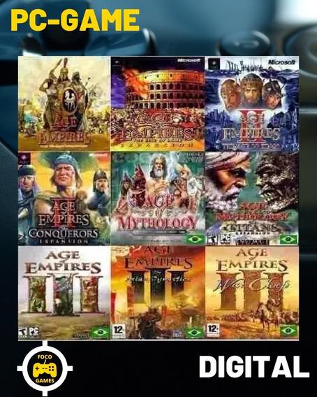 Age Of Empires 1 2 3 + Warcraft 3 +age Mythology+ Simcity