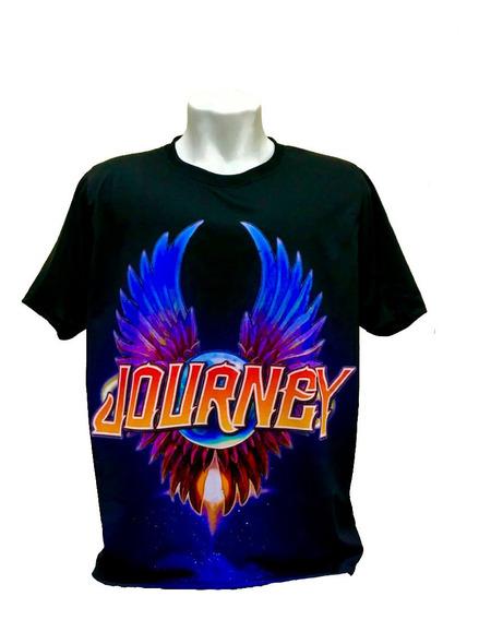 Kit Duas Camisetas Banda Journey