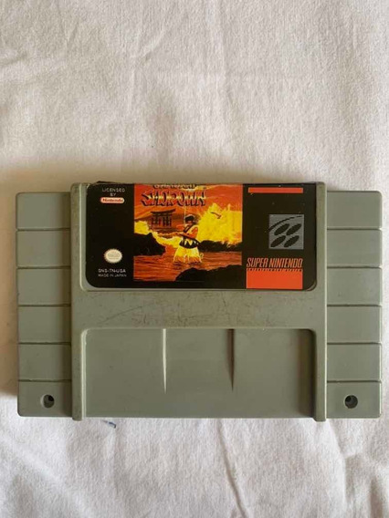 Jogo Nintendo Superfamicon Samurai Shodown Original