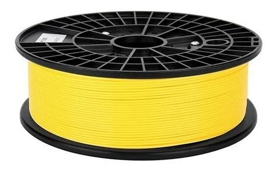 Filamento Pla Amarelo 1.75mm 1kg Para Impressora 3d