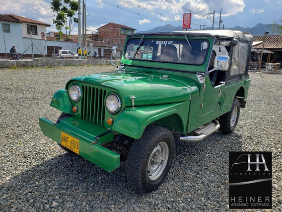 Jeep Willys Oreje Perro