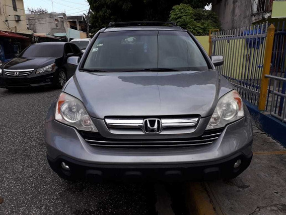 Honda Cr-v Ex 2008 Gris
