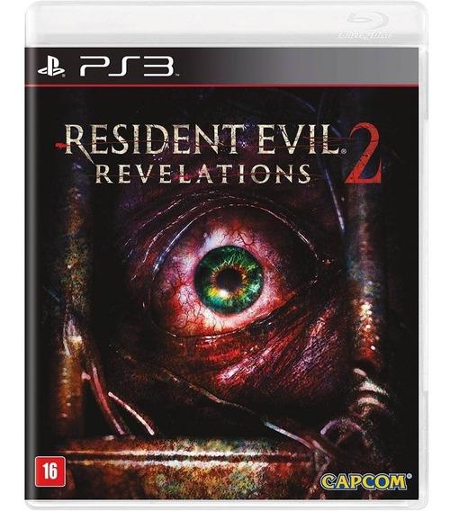 Resident Evil 2 Revelations Ps3 Novo Lacrado Midia Fisica