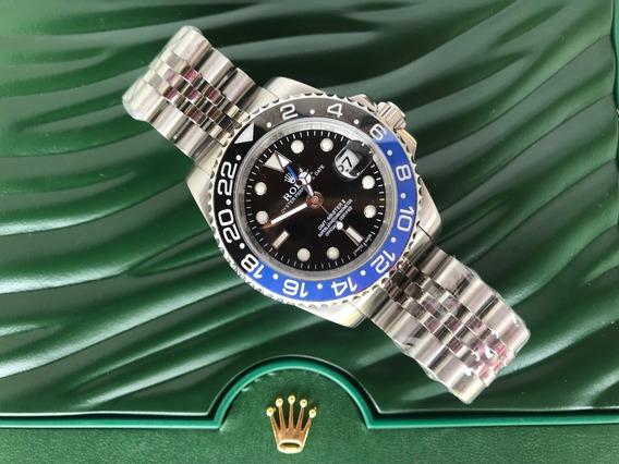 Relógio Rolex Gmt Master Il Automático Batman