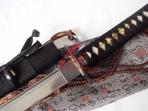 Imagem 1 de 9 de Katana Tradicional Aço Dobrado Forjada Espada Samurai
