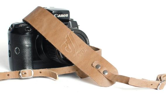 Alça De Pescoço Em Couro Legitimo Cameras Dslr Profissionais