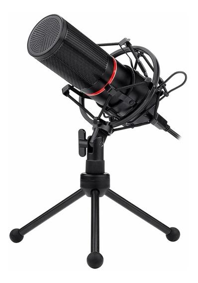 Microfone Gamer Redragon Blazar Streamer C/tripé Gm300