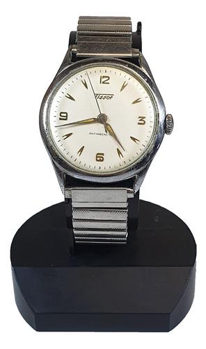 Antigo Relógio De Pulso Tissot Antimagnetic Cod 254-855