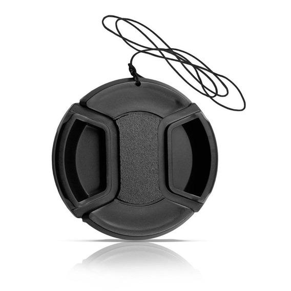Tampa De Lente 72mm Para Câmeras Canon Nikon Fuji Sony