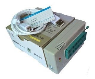 Programador Minipro Tl866 Ii Plus + 08 Adaptadores