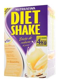 Diet Shake Tradicional 400g Baunilha - Nutrilatina